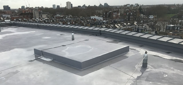 Asphalt Roofing London